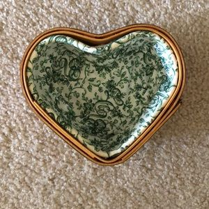 Longaberger Heart basket, with two plastic liners